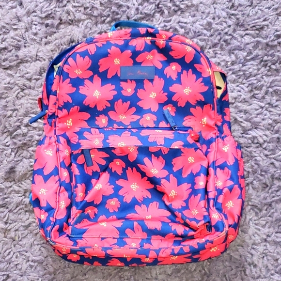 Vera Bradley Lighten Up Backpack - Art Poppies